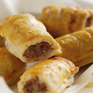 Cranberry Sausage Roll