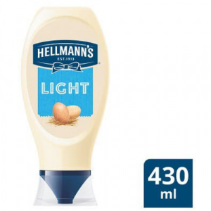 Hellmans Light Mayonnaise (430ml)